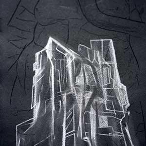 Drawing on Black Paper | Samit Das